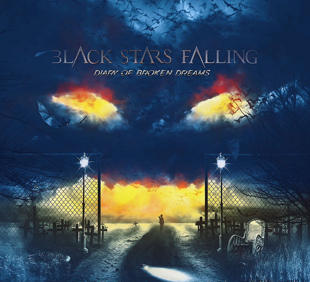 Black Stars Falling - Diary Of Broken Dreams