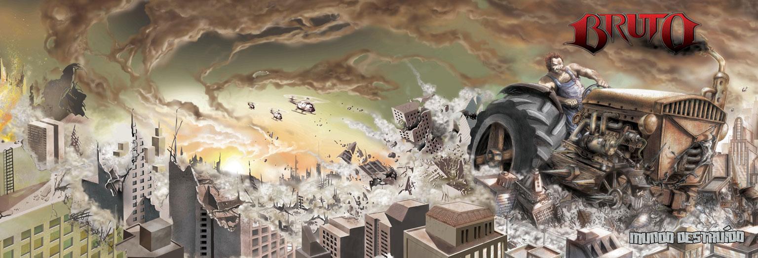 Bruto - Mundo Destruido