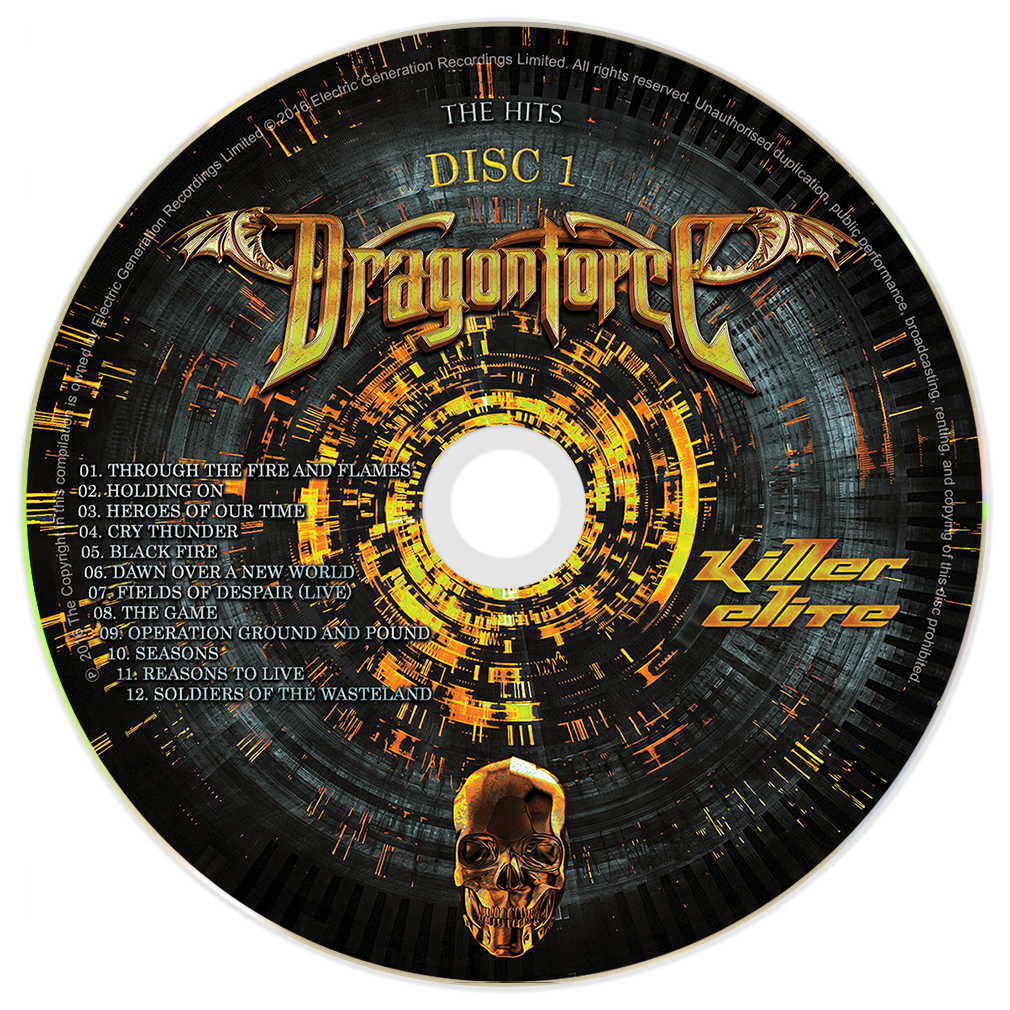 DragonForce - Killer Elite Digi-Pack