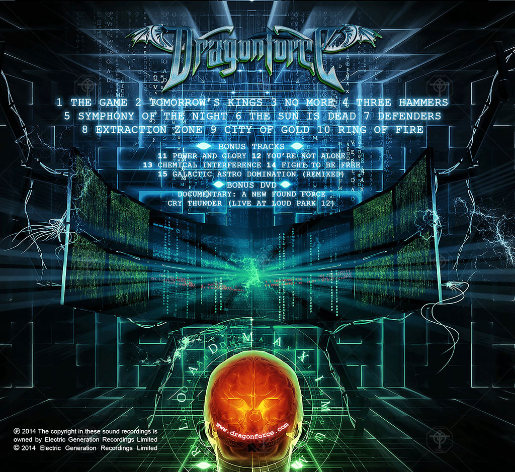 DragonForce - Maximum Overload Digi-Pack