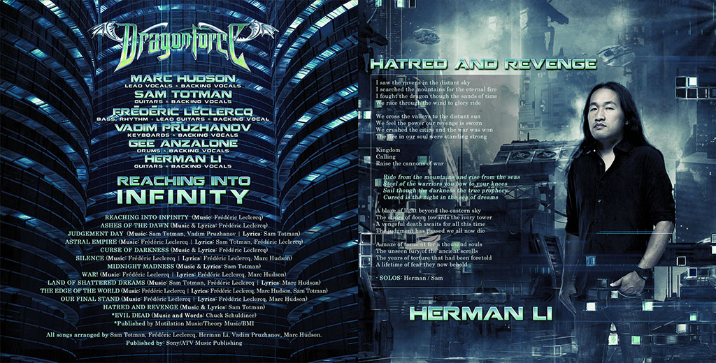 DragonForce - Reaching Into Infinity CD Digi-Pack