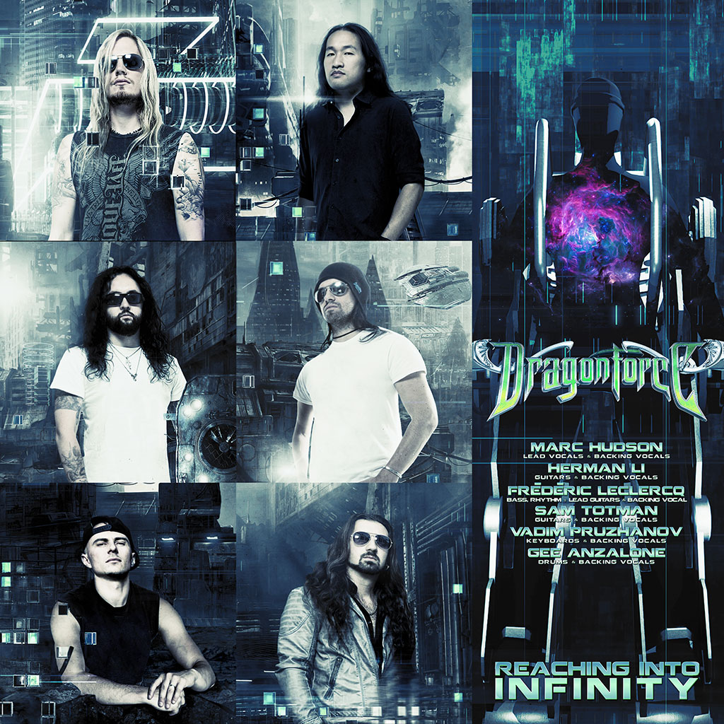 DragonForce - Reaching Into Infinity LP