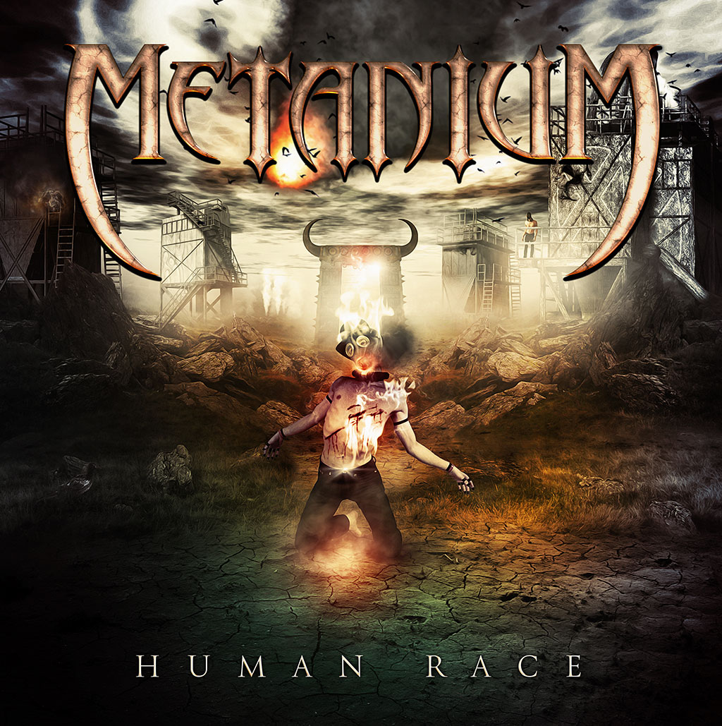Metanium - Human Race LP