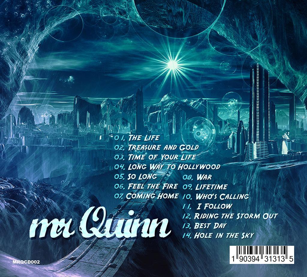 Mr Quinn - Long Way To Hollywood CD