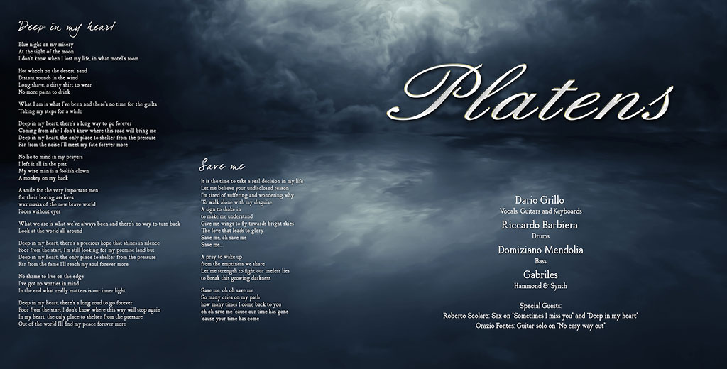 Platens - Out Of The World