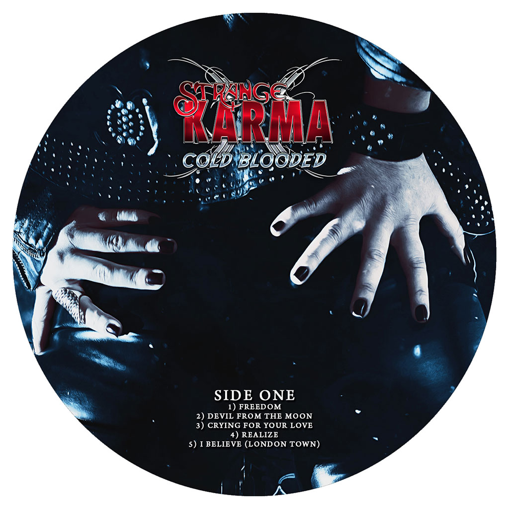 Strange Karma - Cold Blooded LP