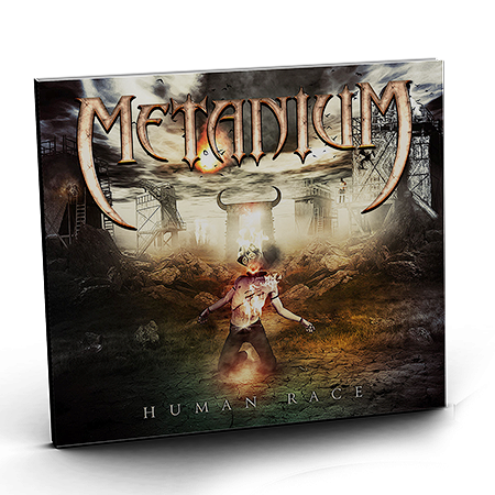 Metanium - Human Race CD