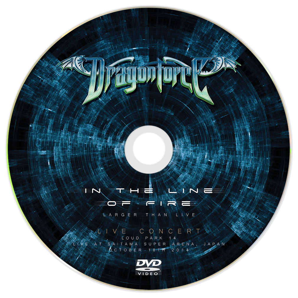 DragonForce - In The Line Of Fire (Standard DVD)